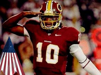 pretty nice a03f0 4d394 USAA and Washington Redskins QB Robert Griffin III Team Up ...